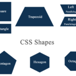 CSS Shapes – Square Rectangle Parallelogram Trapezoid and Polygons