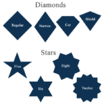 CSS Shapes – Diamond and Star