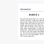 Open popup from another popup in jQuery