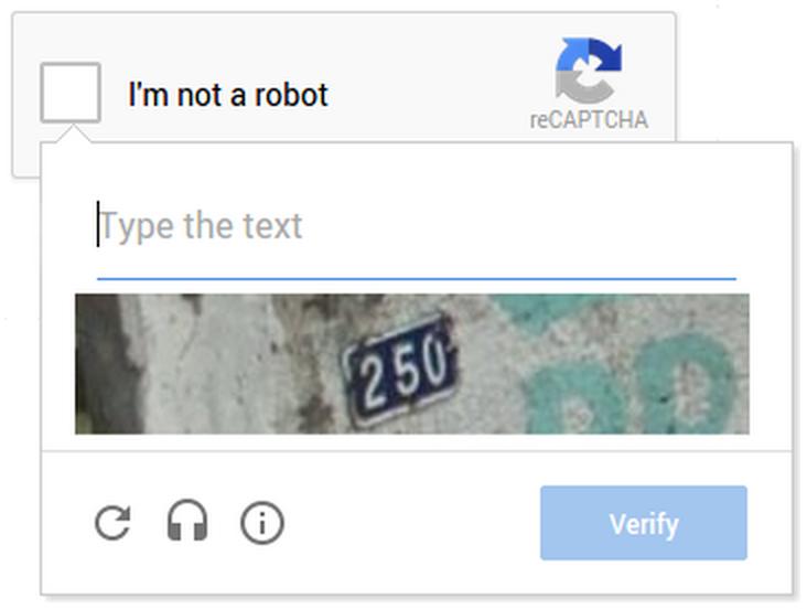 Implement Google Repaptcha