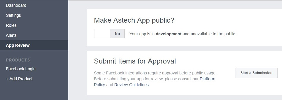 App review: make app available to public