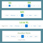 WordPress Pagination in Bootstrap 4 Style – Function