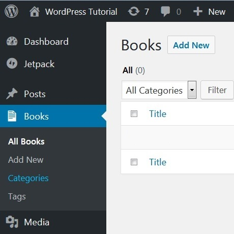 Add Default WordPress Categories and Tags to