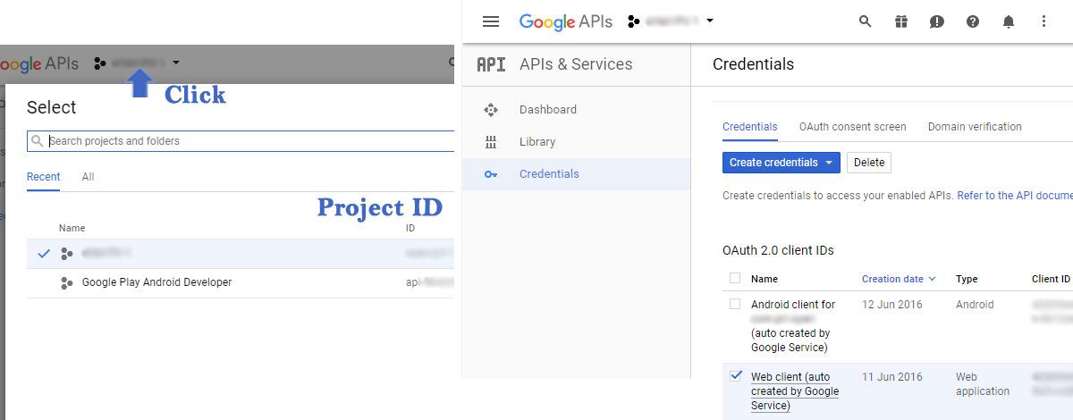 OAuth client verification IDs