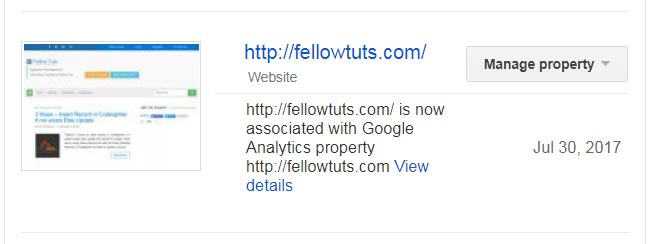Verify Site Ownership with Google