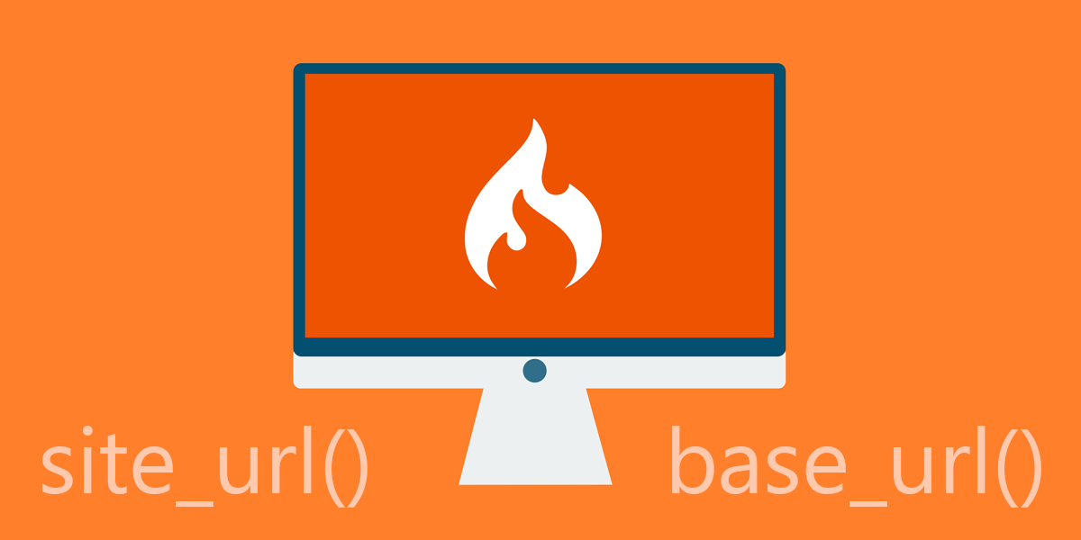 site_url() and base_url() in CodeIgniter